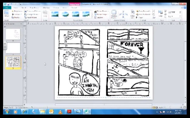 word 2013 book template - tutorial using microsoft publisher to make a mini comic